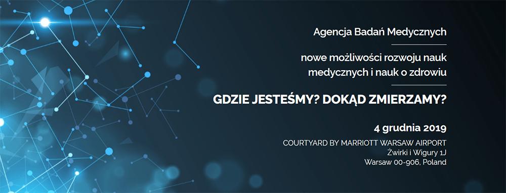 Agencja Badań Medycznych - konferencja