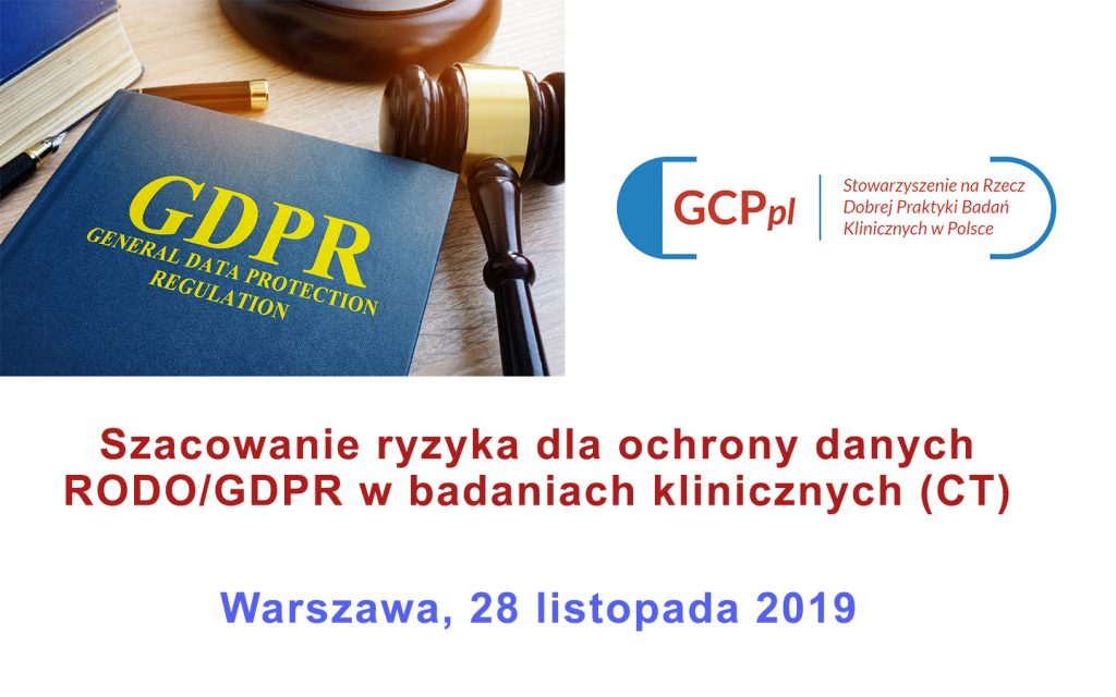 warsztat GDPR 1024x640 - Warsztaty RODO - szacowanie ryzyka dla ochrony danych w badaniach klinicznych