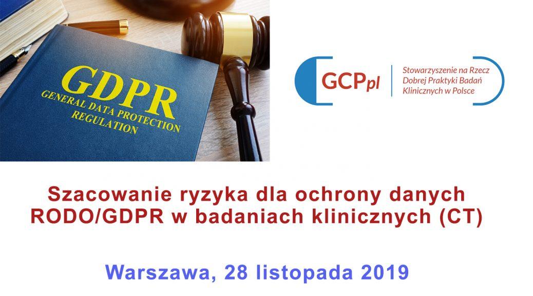 warsztat GDPR 1038x576 - Warsztaty RODO - szacowanie ryzyka dla ochrony danych w badaniach klinicznych