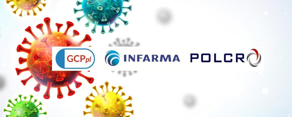 wytyczne 3.0 Covid 19 - Organizacje GCPpl, INFARMA oraz POLCRO opublikowały wersję 3.0 dobrych praktyk badań klinicznych produktów leczniczych w trakcie trwania epidemii COVID-19