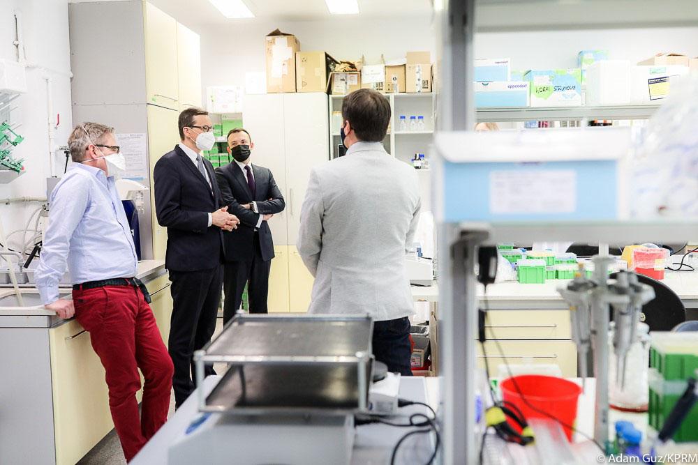 4. fot. Adam Guz KPRM - ABM przekaże 300 mln na wdrożenie technologii RNA w Polsce